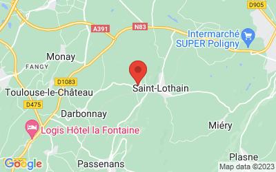 10 rte Darbonnay Sous Mont 39230 SAINT LOTHAIN