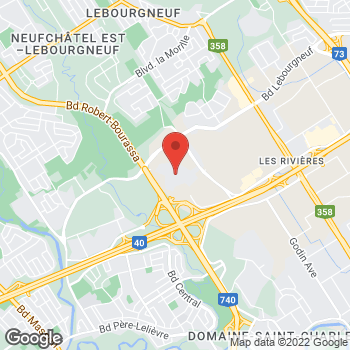 Map of Michael Kors at 5401 Boulevard des Galeries, Quebec City, QC G2K 1N4