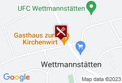 """Gasthaus Strohmeier - """"Zum Kirchenwirt"""" - Karte"""