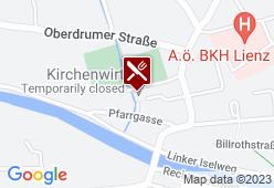 Kirchenwirt Lienz - Karte