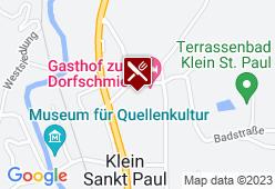 Gasthaus Sonnberger - Karte