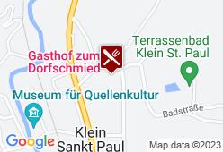 Zum Dorfschmied - Karte