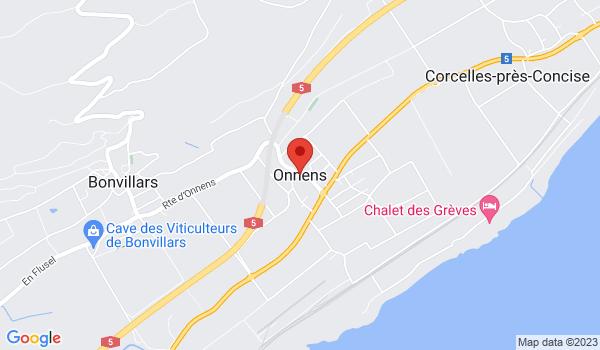 Google map positionnant le bien