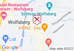 Schloss-Restaurant Wolfsberg - Karte