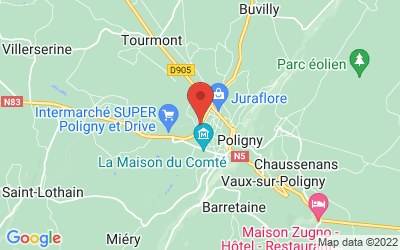 Route Nationale 83 39800 POLIGNY
