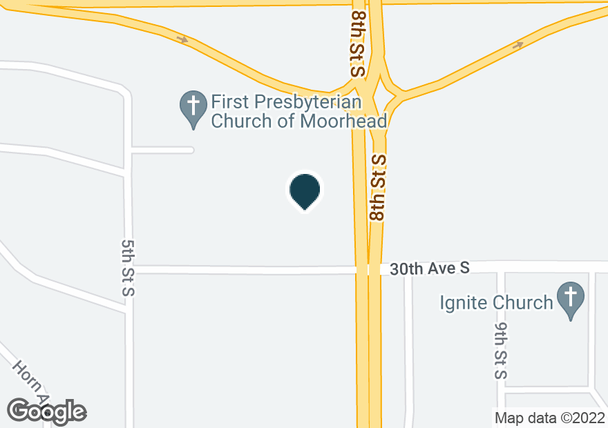 Google Map of700 30TH AVE S