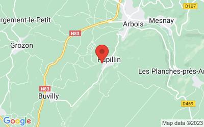 Chemin des Vignes 39600 PUPILLIN