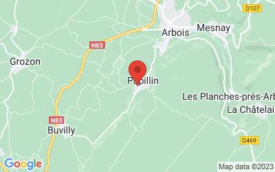 Domaine de la Borde 39600 PUPILLIN