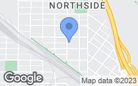 Map of Missoula, MT