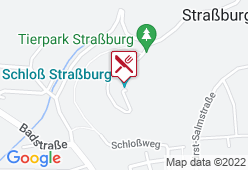 Schlossrestaurant Straßburg - Karte
