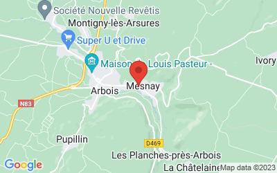 1 rue Bardenet 39600 MESNAY