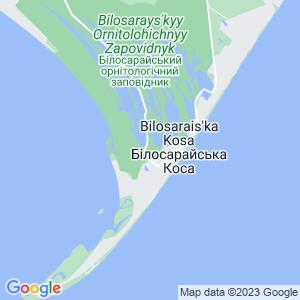 Карта города Белосарайской косы