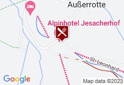 Jesacherhof - Karte
