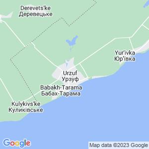 Карта города Урзуфа