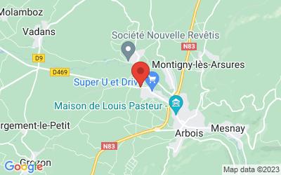 Route de Dole 39600 Arbois