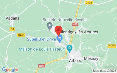 51 route de Villette 39600 ARBOIS