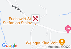 """Gasthaus Jochum """"Zum Fuchswirt"""" - Karte"""