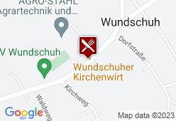 Wundschuher Kirchenwirt - Karte