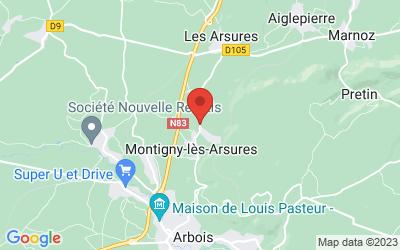 Rue Boutière 39600 MONTIGNY LES ARSURES