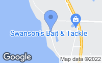 Map of Hackensack, MN