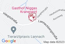 Gasthof Niggas - Karte