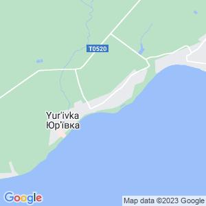 Карта города Юрьевки