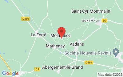 1, rue Coin des Côtes 39600 MOLAMBOZ