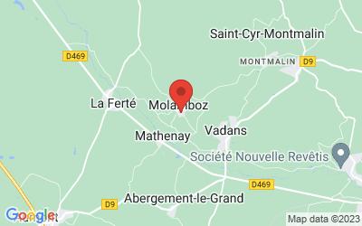 4 bis rue du Coin des Côtes 39600 MOLAMBOZ