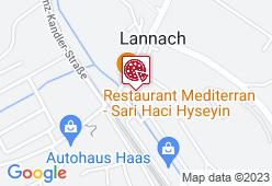 Restaurant Mediterran - Karte