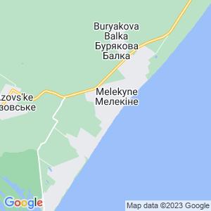 Карта города Мелекино