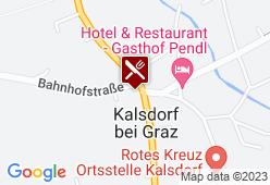 Gasthof Pendl - Karte