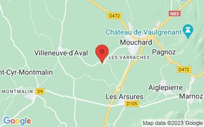 17 route  de Villeneuve d'Aval 39330 MOUCHARD