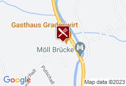 Gasthaus Gradenwirt - Karte