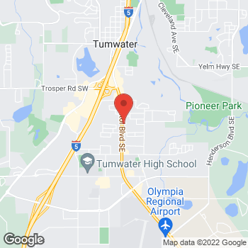 Map of Willamette Dental Group - Tumwater at 6120 SE Capitol Blvd., Tumwater, WA 98501