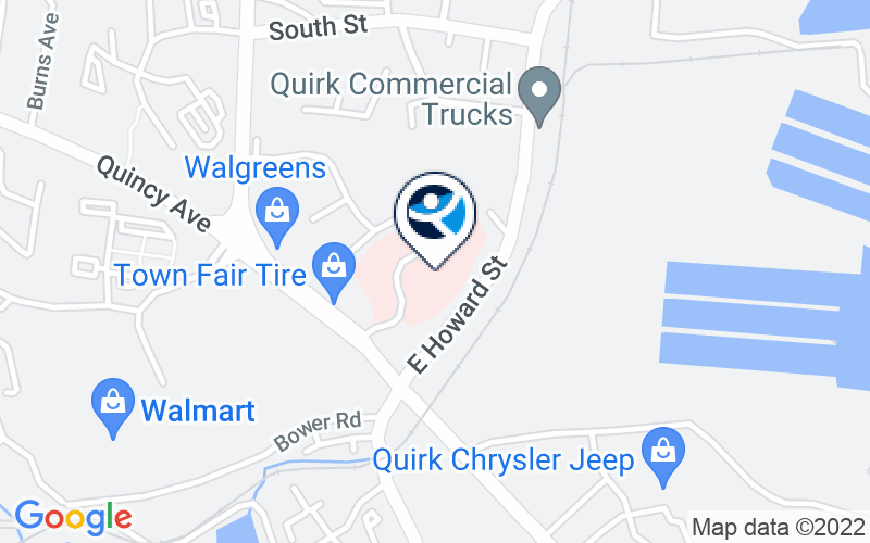 The Quincy Center Location and Directions