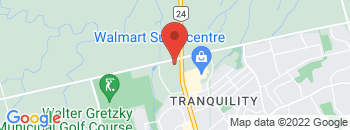 Google Map of 460+Powerline+Rd%2CBrantford%2COntario+N3R+7Y5