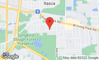 Map of 460 South Princeton Avenue ITASCA, IL 60143