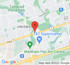 Google Map of 4600+Highway+7+East%2CMarkham%2COntario+L3R+1M5