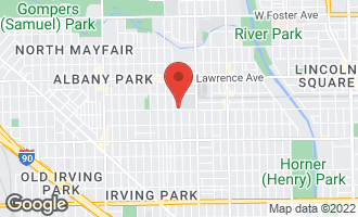 Map of 4600 North St Louis Avenue 1S CHICAGO, IL 60625