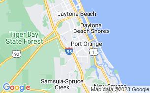 Map of Daytona Beach RV Resort