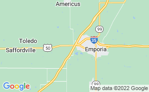 Map of Emporia RV Park