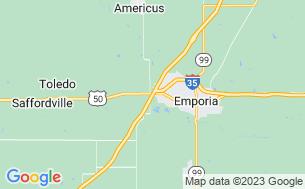 Map of Emporia RV Park