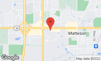 Map of 4601 Lincoln Highway MATTESON, IL 60443