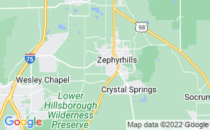 Map of Happy Days RV Park