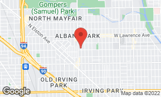 Map of 4606 North Harding Avenue #2 CHICAGO, IL 60625