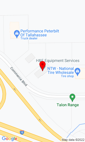 Google Map of Bobcat of Tallahassee 461 Commerce Blvd, , Thomasville (Midway), FL, 32343