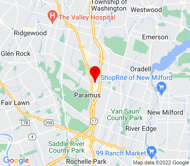Click to view Google maps office address 461 From Rd. , Paramus, NJ 07652