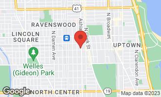 Map of 4610 North Ashland Avenue 1N CHICAGO, IL 60640