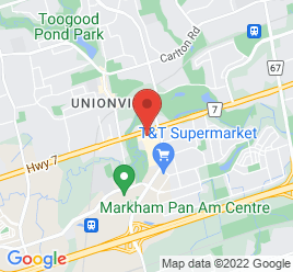 Google Map of 4611+Highway+7%2CMarkham%2COntario+L3R+1M6