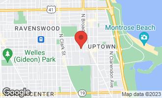 Map of 4615 North Magnolia Avenue 1S CHICAGO, IL 60640